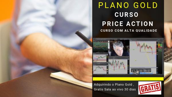 PRÉ WORKING GOLD Price Action + Gratis Sala Ao Vivo 30 dias