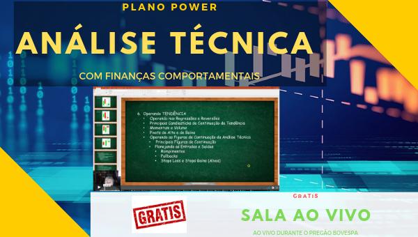 PRÉ WORKING POWER - ANÁLISE TECNICA  + GRATIS SALA AO VIVO 30 DIAS